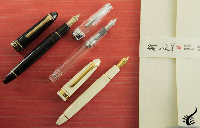 Sailor fountain pens scpecial nibs