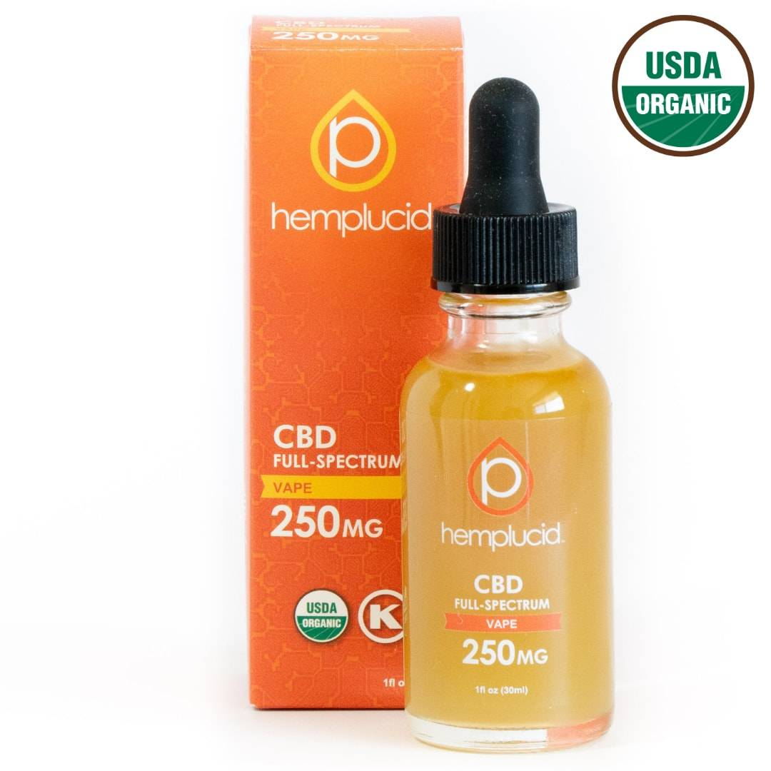 USDA Organic Full-Spectrum CBD Vape