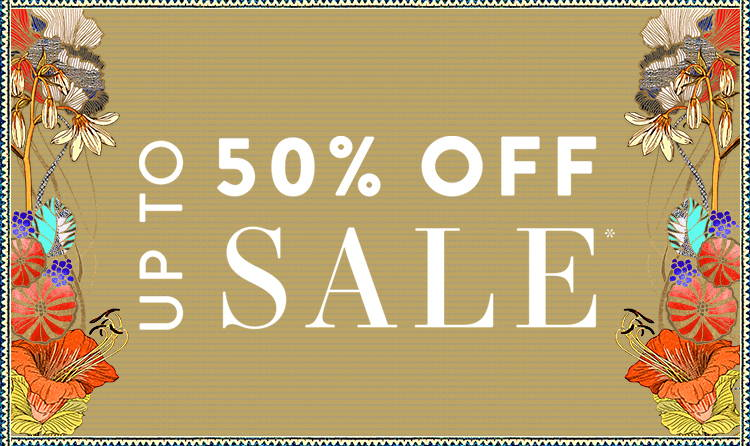 Up to 50% Off SALE*