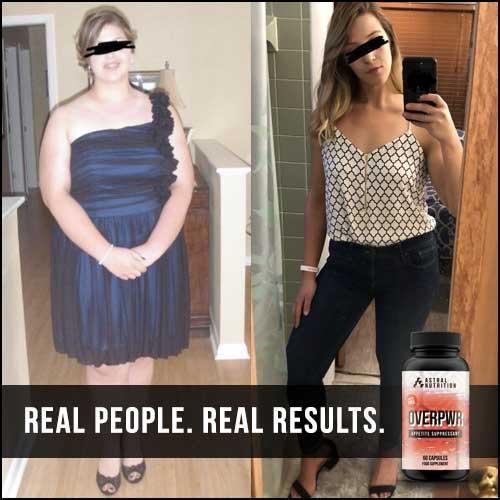 Overpwr Appetite Suppressant Results