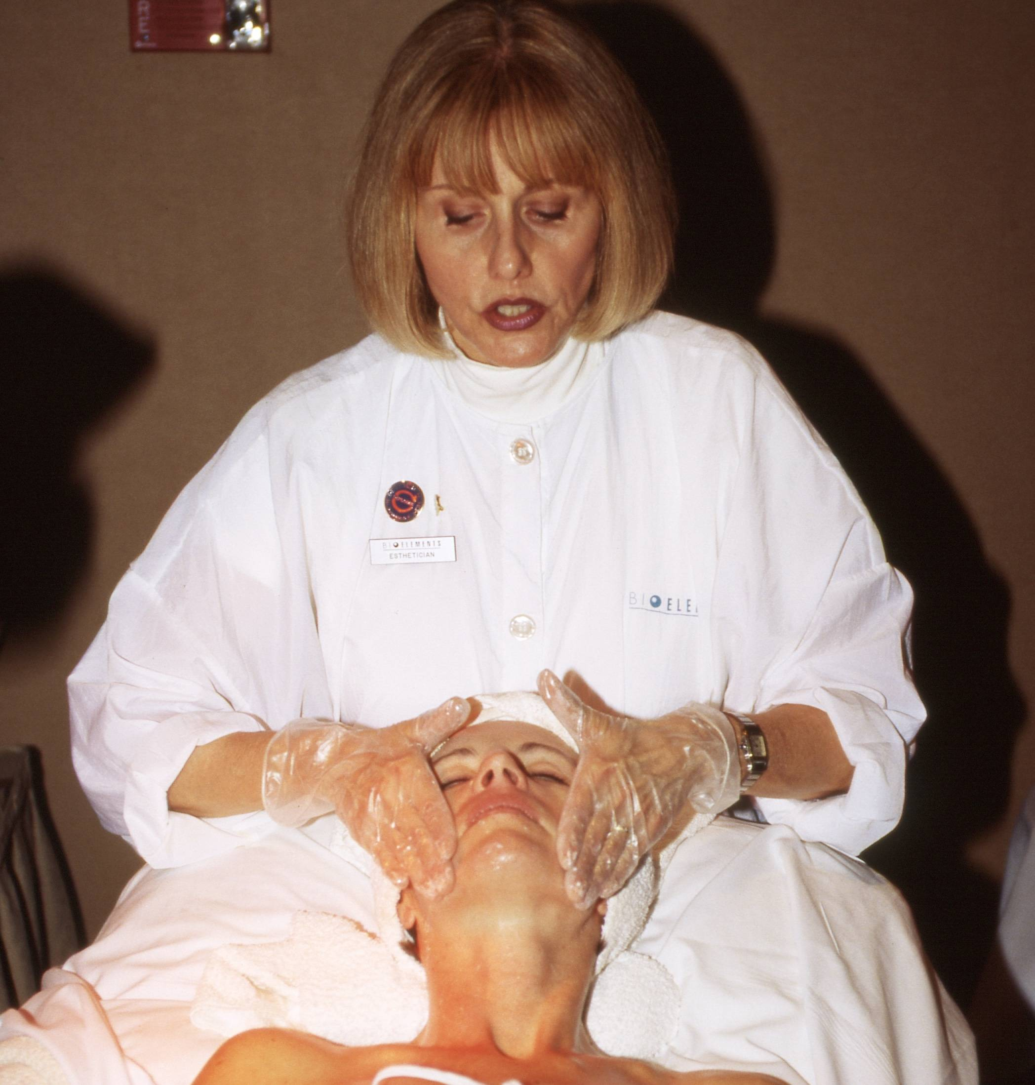 Barbara Salomone teaching in 1985