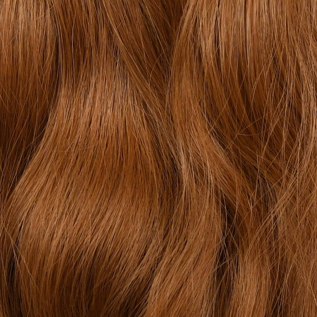 dark red hair extensions color sample in hair color chart