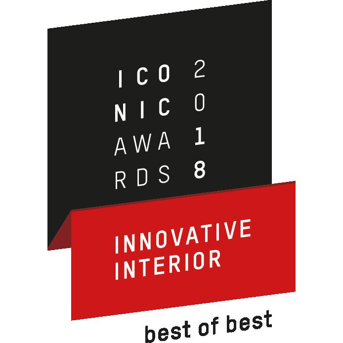 Iconic awards 2018 innovative interior best of best