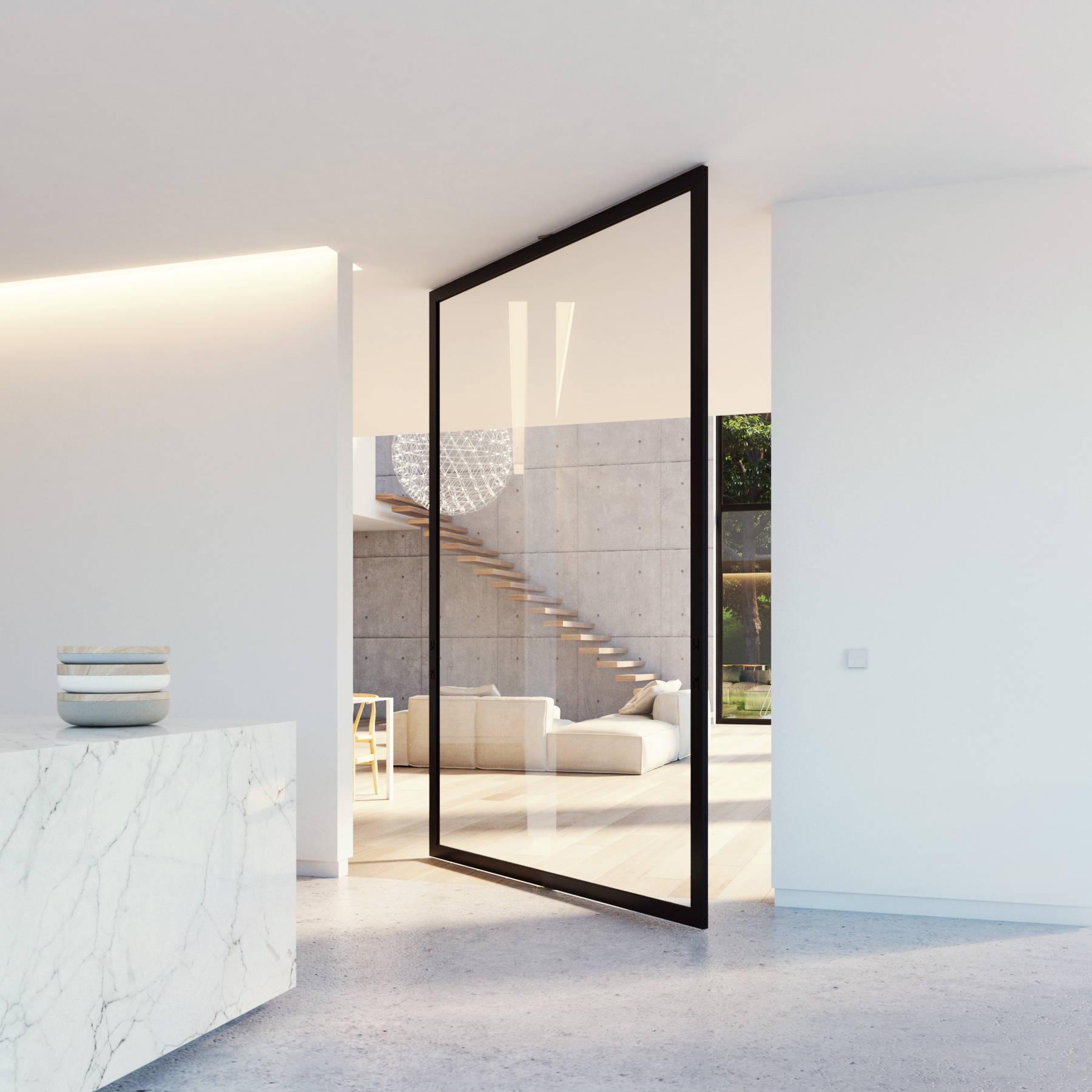 Glass Doors Portapivot