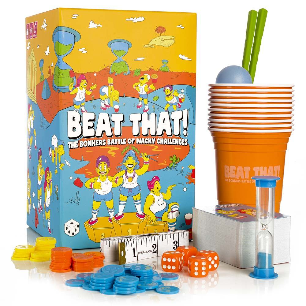 Beat That! party game box front