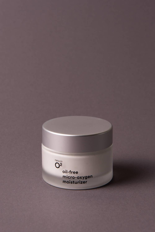 Truly O2 oil-free micro-oxygen moisturizer for moisturizing face