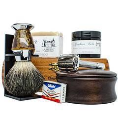 Ultimate Shaving Kit Set With Organic Shaving Soap