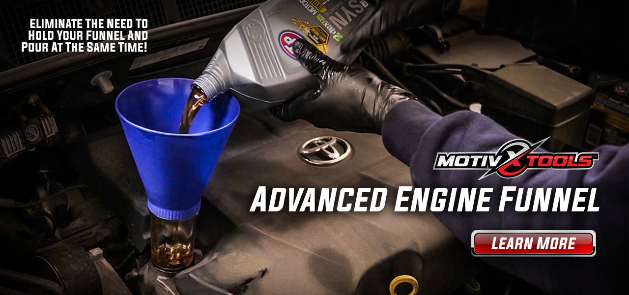 Motivx Tools - Advanced Engine Oil Funnel