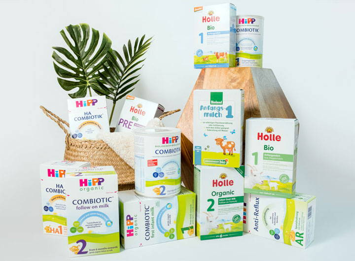 Formulas for Constipated Babies - Holle Goat, HiPP HA, and