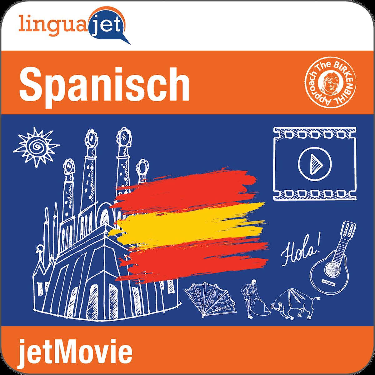 Die jetMovie-Kurse verpacken eine Fernsehserie in einen online Spanischkurs