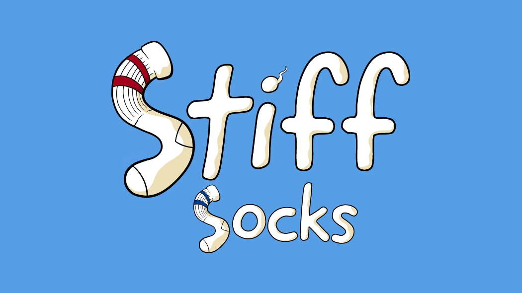 Stiff Socks podcast logo