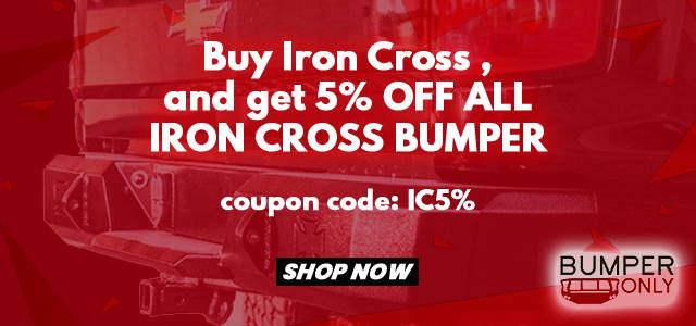 Iron Cross Bumpers Coupon Codes