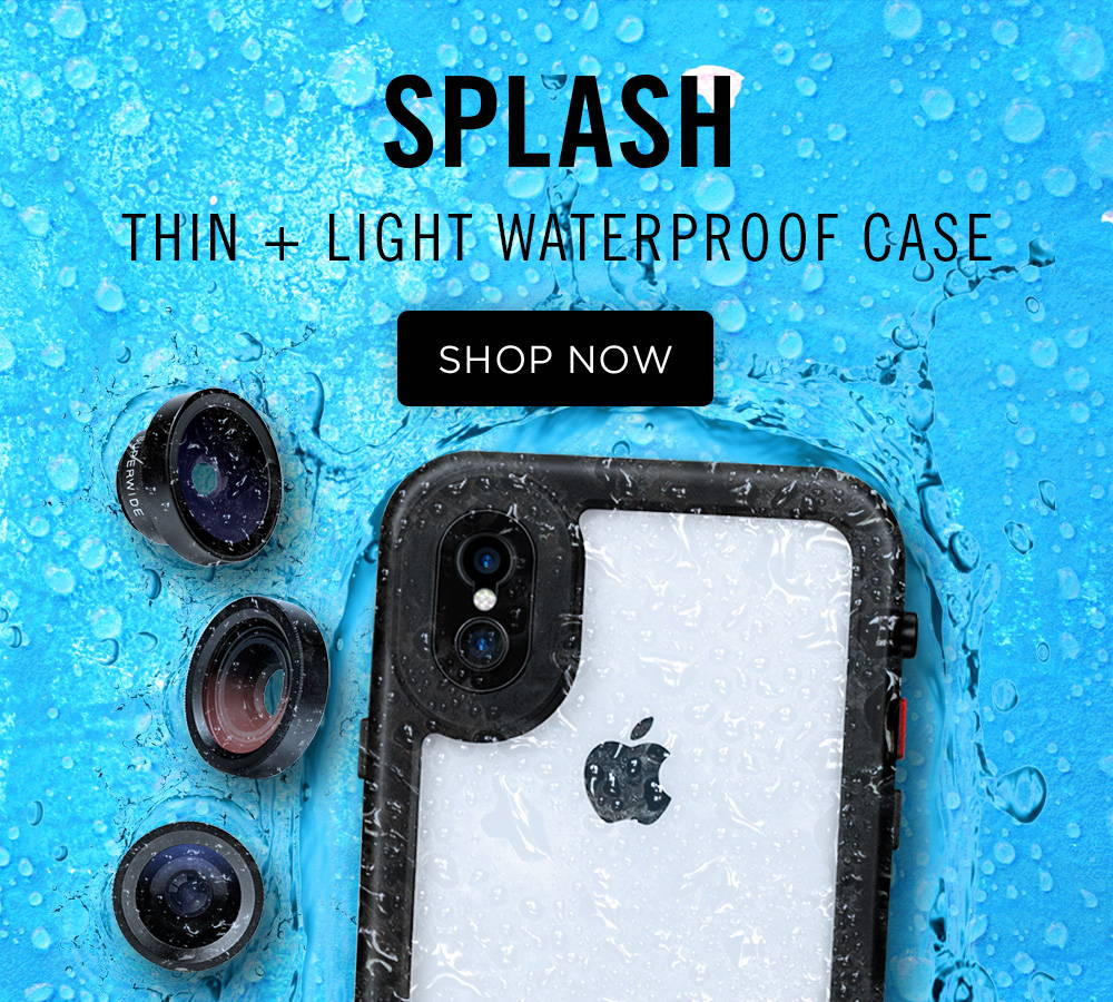hitcase splash - thin and light waterproof case