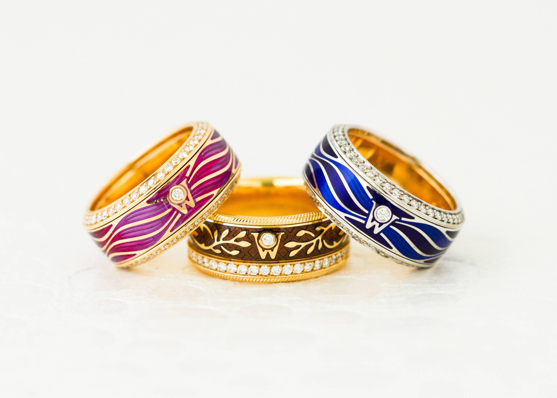 Wellendorff Spinning Rings