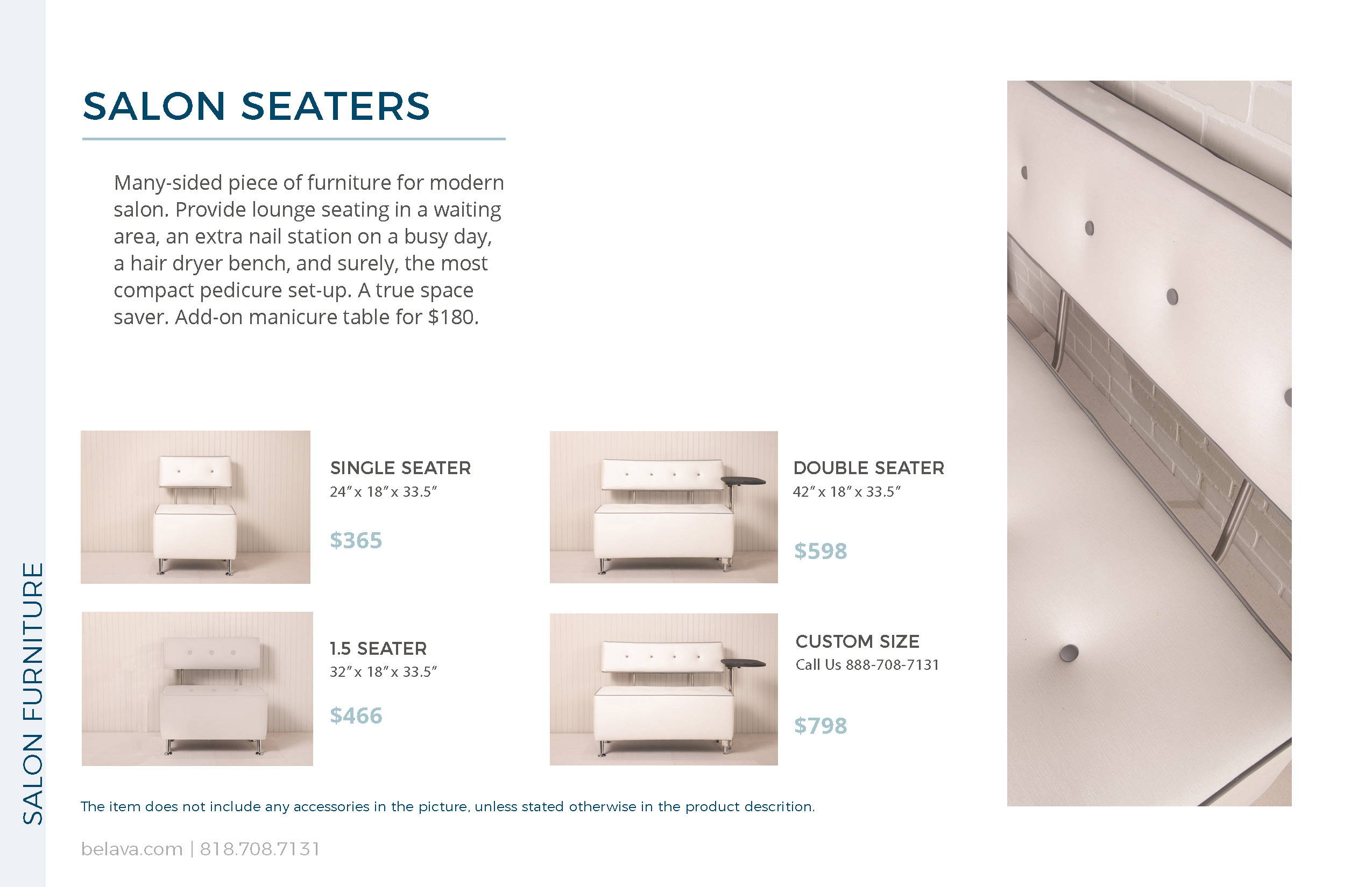 Salon Seaters by Belava