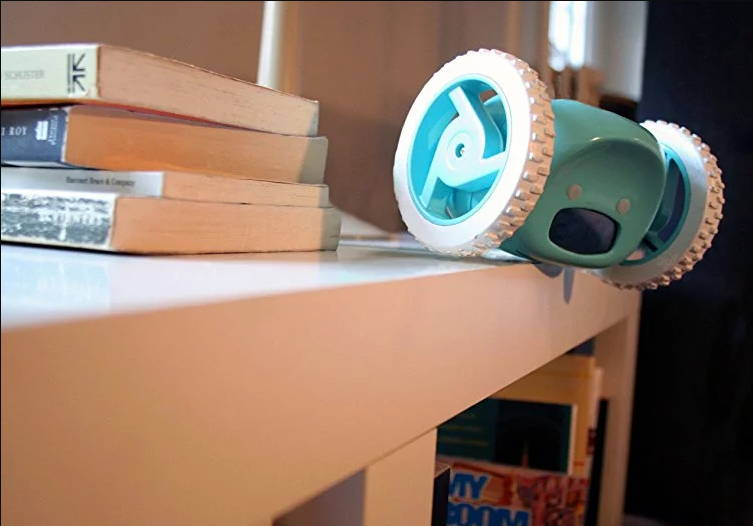 Image result for Clocky robotic alarm: