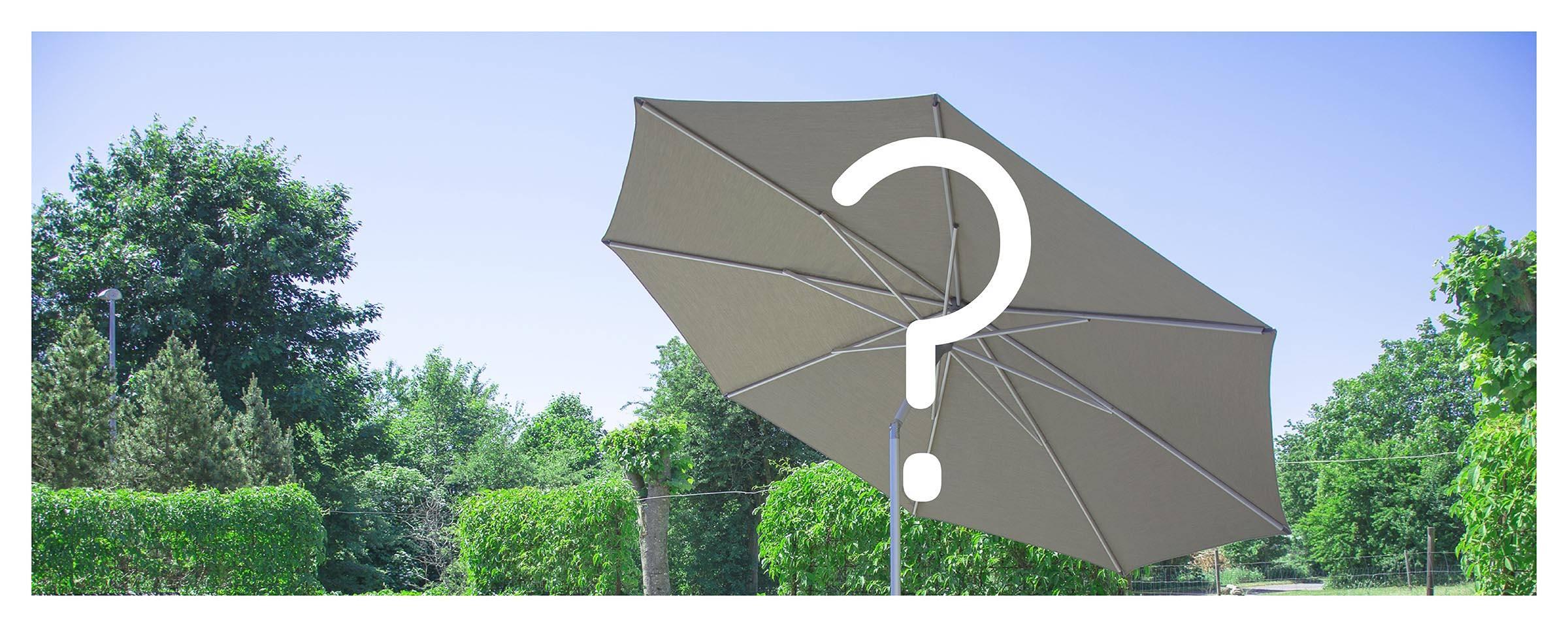 Hvilken parasol skal du vælge?
