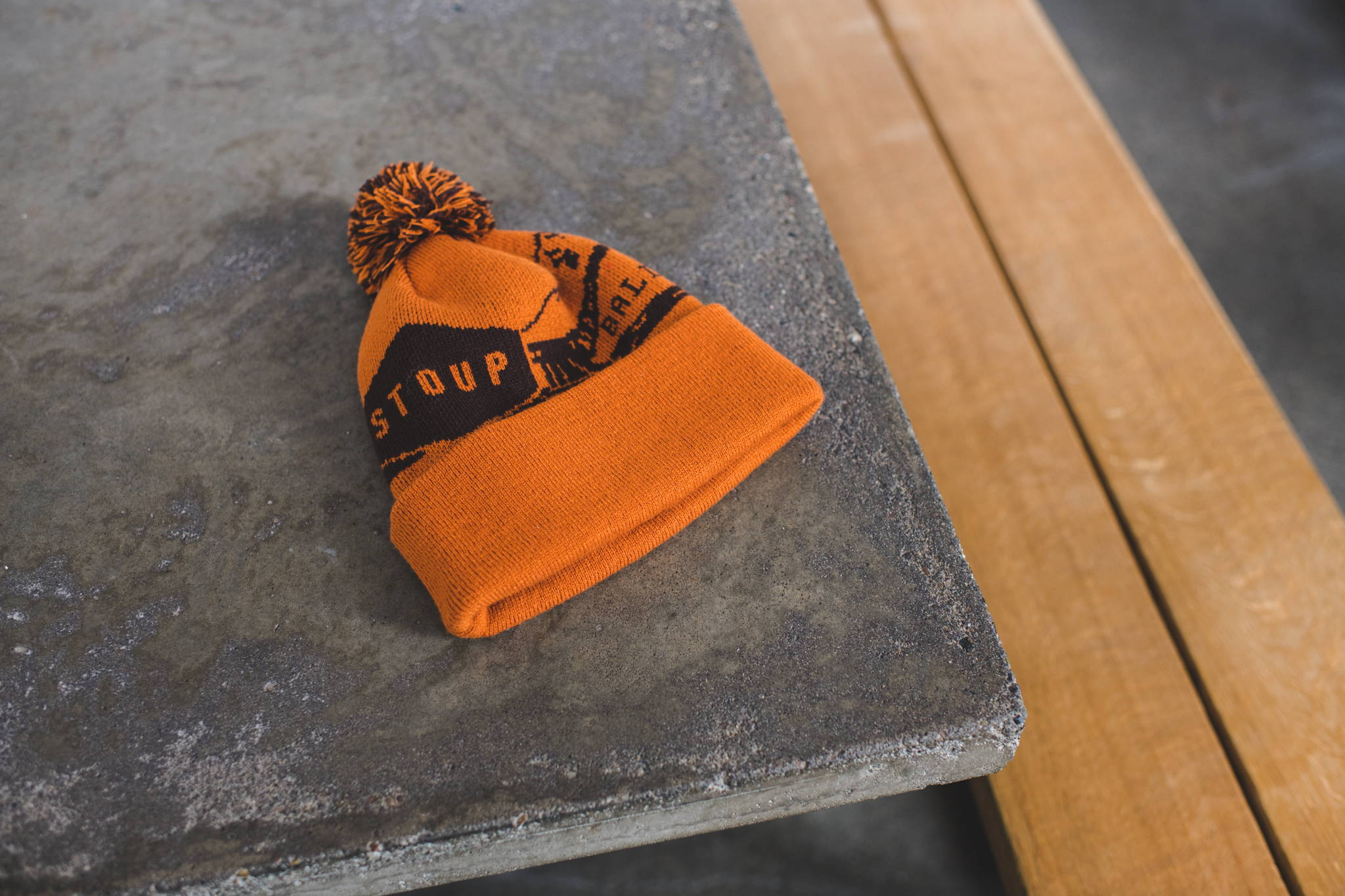 Stoup Brewing Co. Custom Pom Pom Beanie