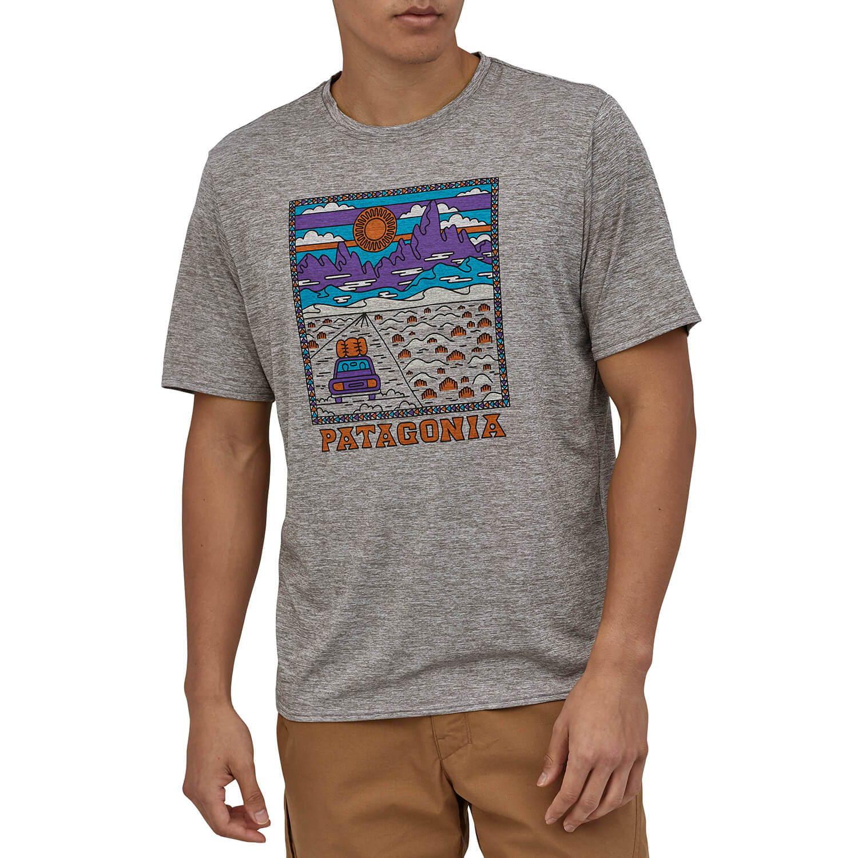 patagonia(パタゴニア)/キャプリーンクール デイリーグラフィックシャツ