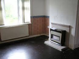 a small electric or gas fire