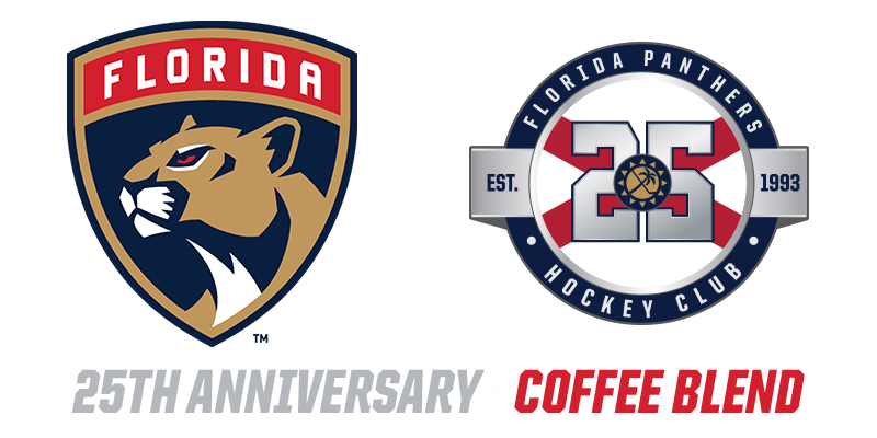 Florida Panthers 25th Anniversary Coffee blend
