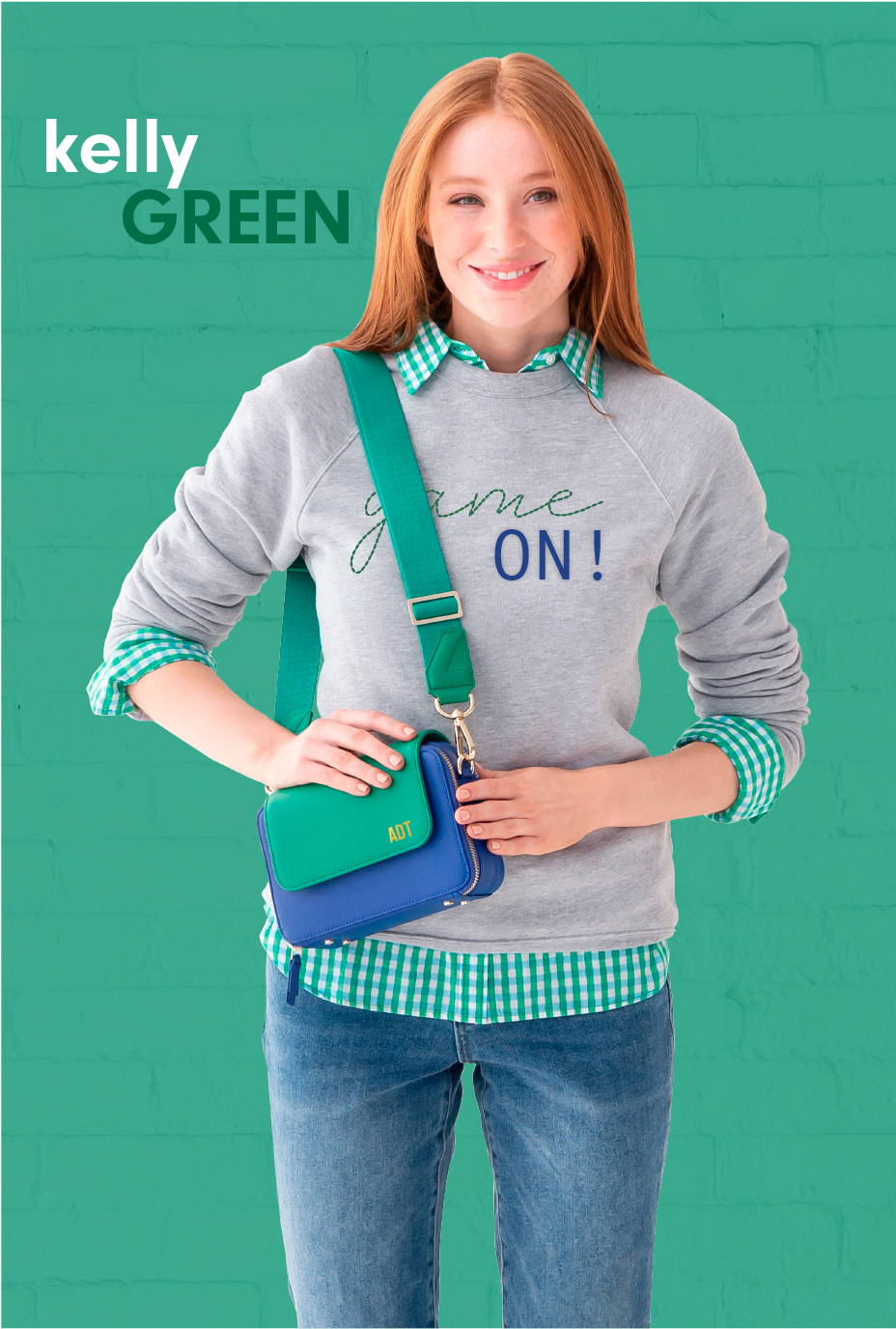 new spring color Kelly Green bright green