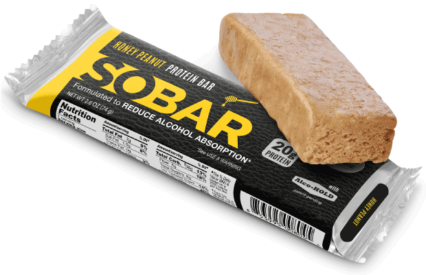 SOBAR:  The next-gen protein bar.  Honey Peanut.