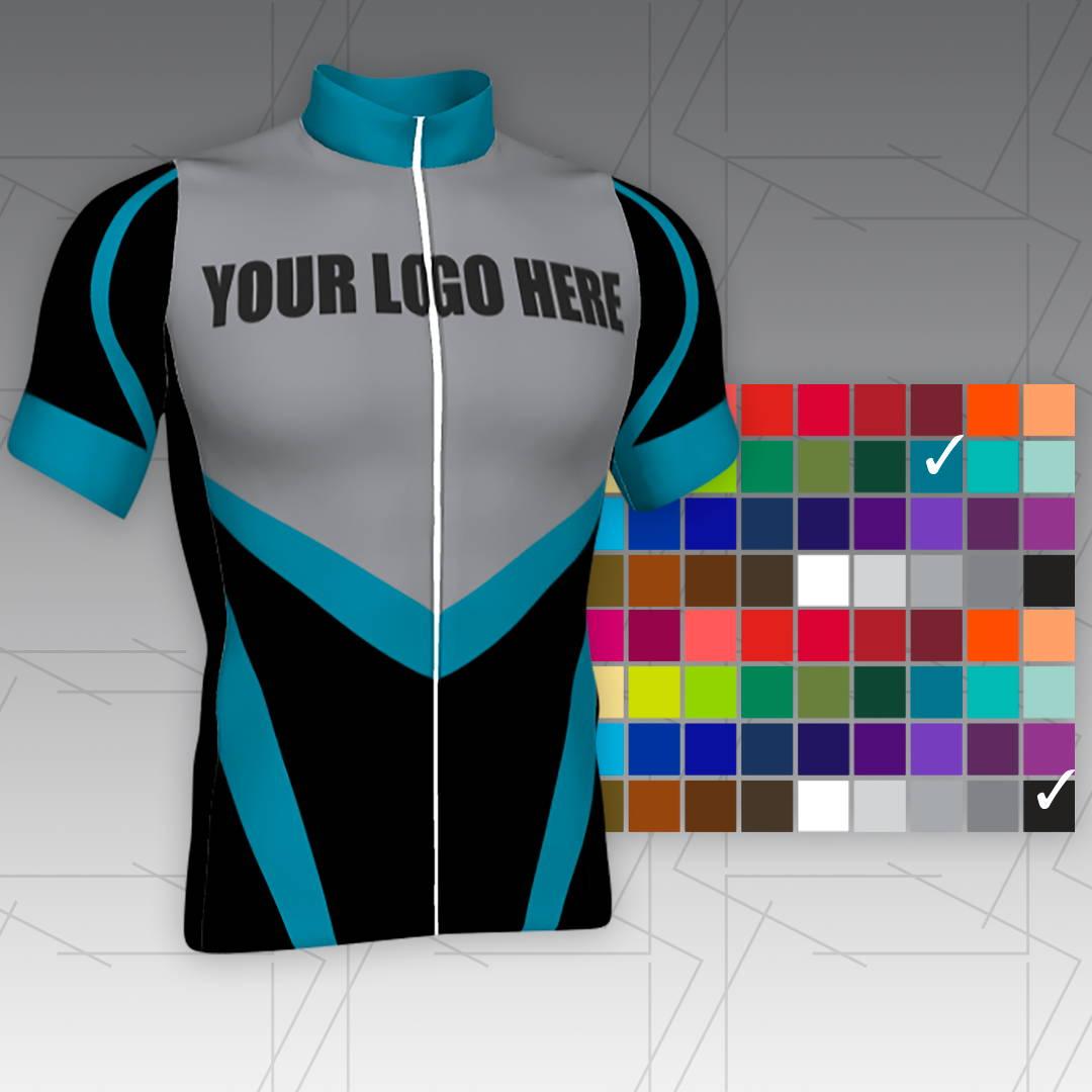 customize semi custom cycling jerseys