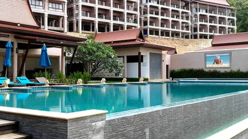 The TV Shield PROTM Hotel Pool Example