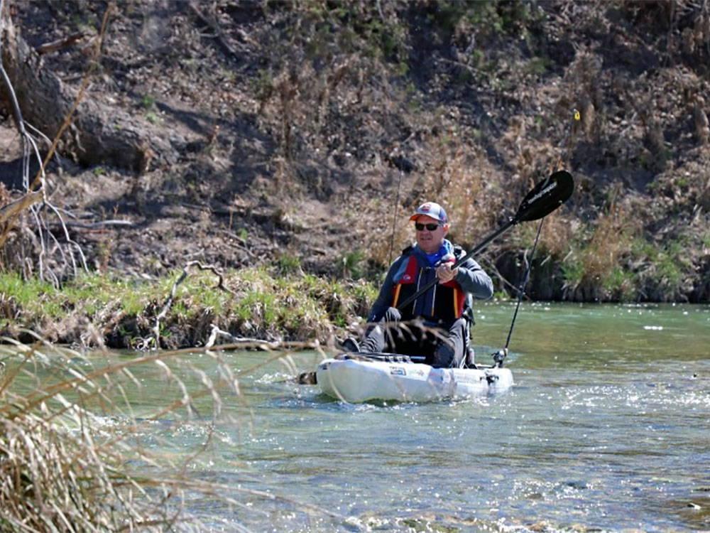 sit on top kayak fishing