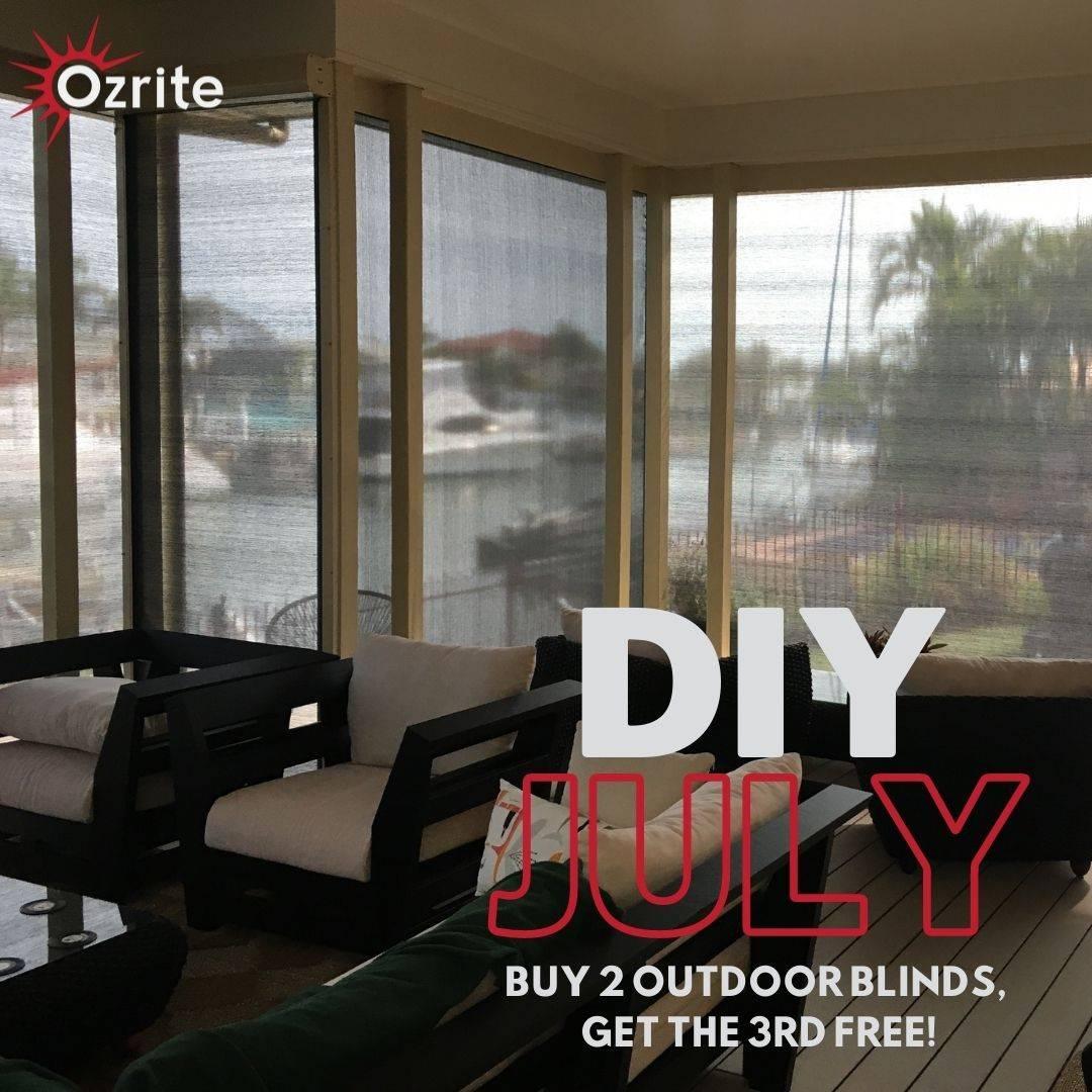 DIY JULY - BUY 2, GET THE 3RD FREE!