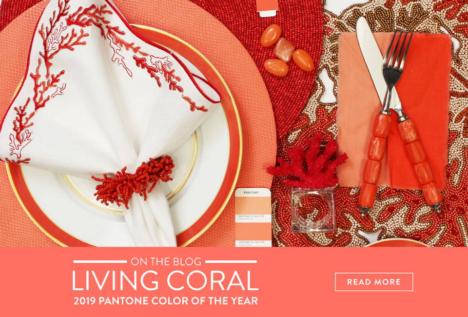 On the blog: Living Color | 2019 Pantone color of the year