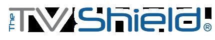 The TV Shield rain-resistant outdoor TV enclosures logo