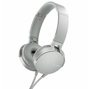 SONY Audífonos Alámbricos de Diadema con Micrófono MDR-XB550AP