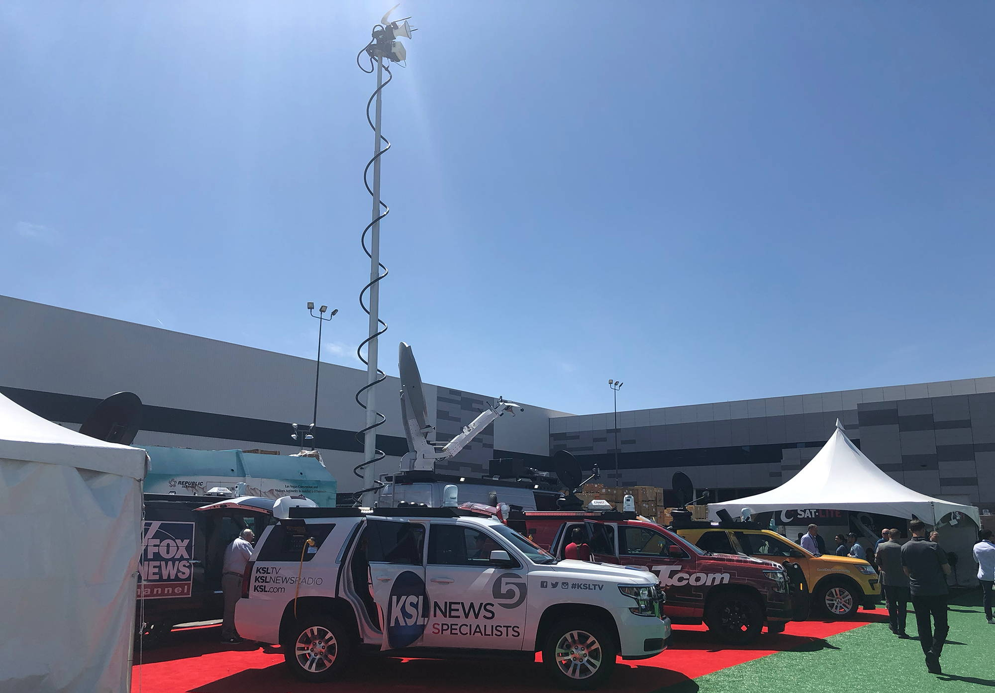 Specialty Vehicles from NAB show mobile generators