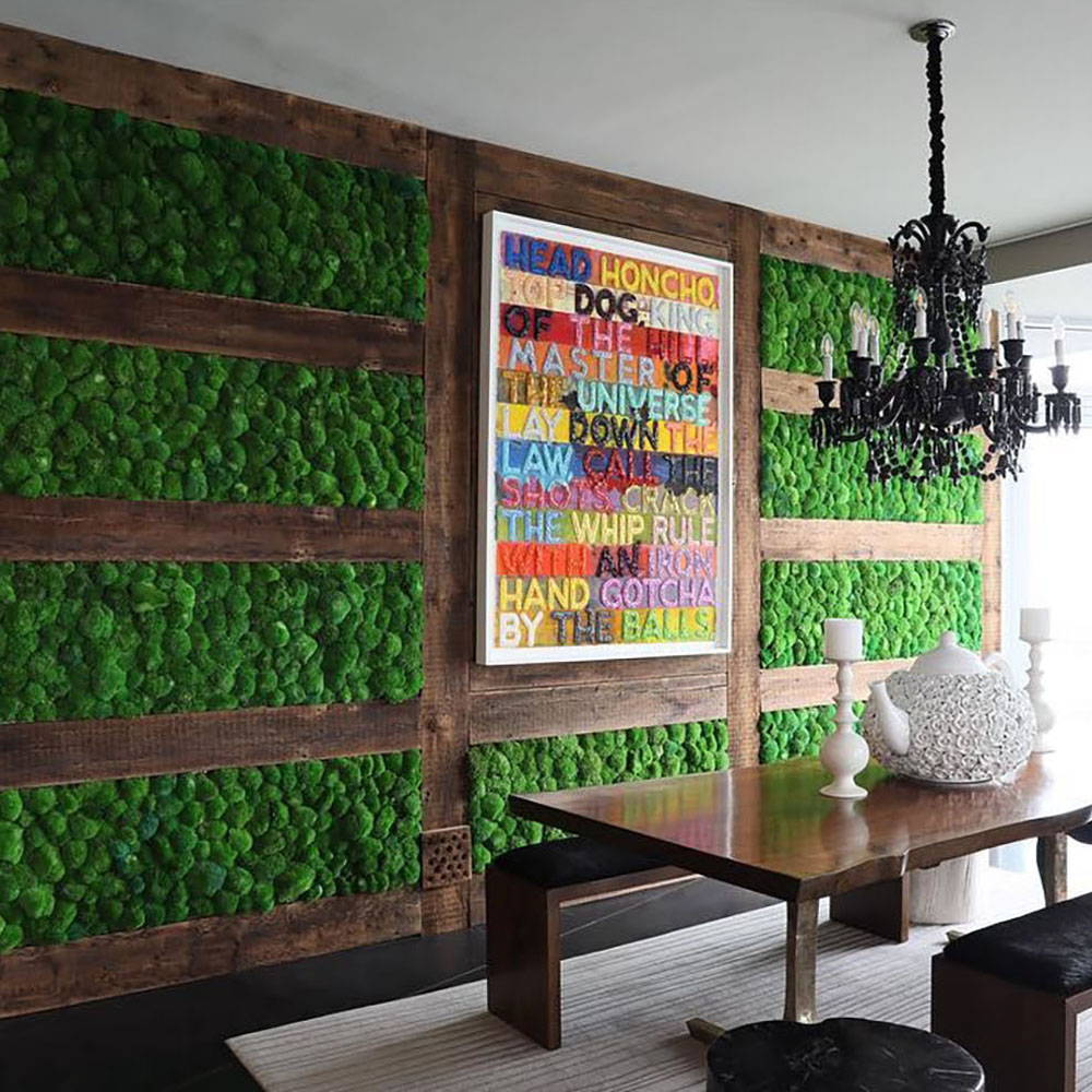 The Maintenance Free Wall Garden Concept Was First Introduced To Us Market By Flowerbox Gardens We Are Leader In Preserved