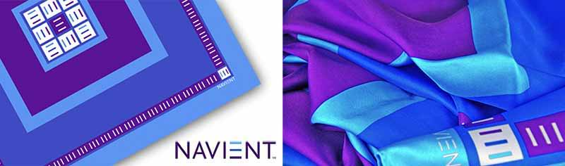 Corporate custom scarves - Silk twill - Square