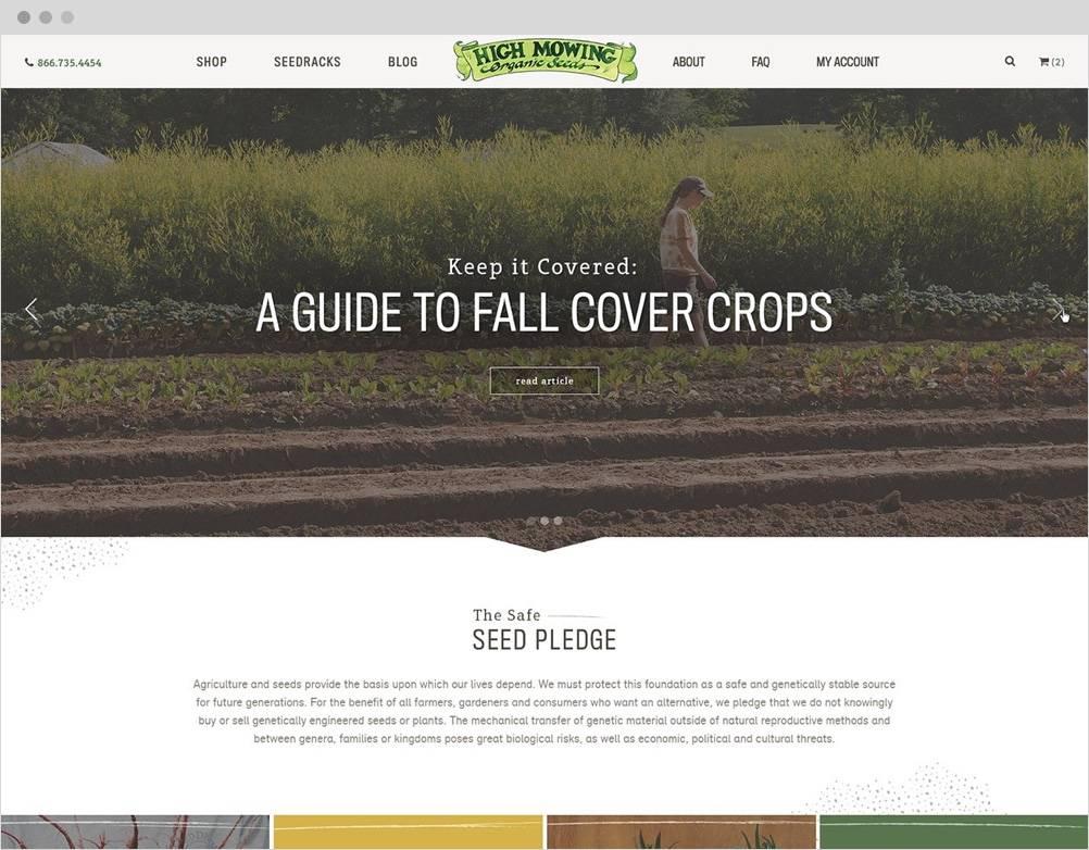 High Mowing Organic Seeds The Challenge 1 B2B Magento