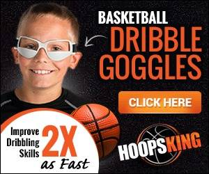 Dribbling goggles