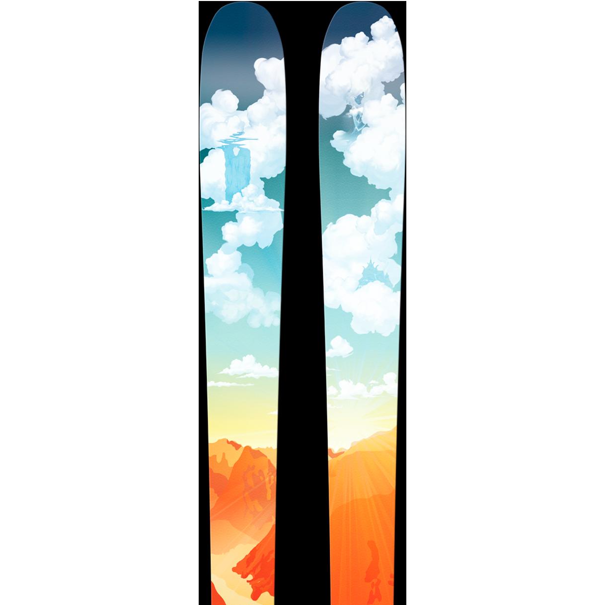 SGN skis Tylderingen Carbon Toppturski