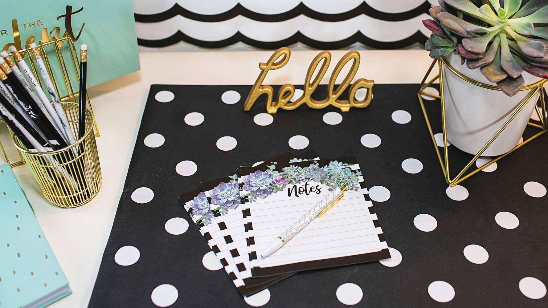 Simply Stylish Notepad