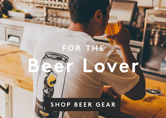 For the Beer Lover. Shop Beer Gear.
