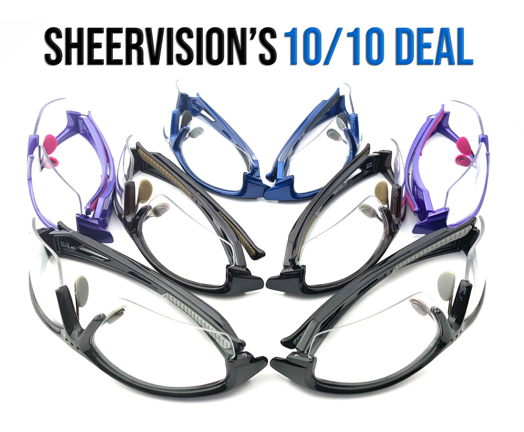 10% OFF + 10 FREE SAFETY FRAME Deal from SheerVision - Use towards $595+ Purchase of Dental or Surgical Loupes , Lights, or Package