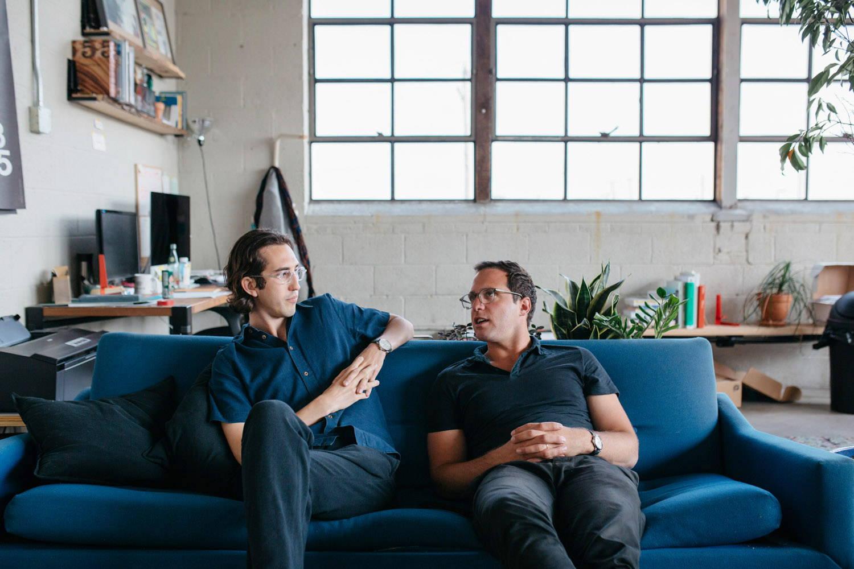 Floyd cofounders Kyle & Alex.