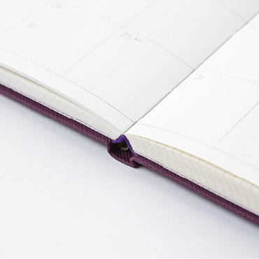 Opens flat - Ardium 2020 Simple medium dated weekly diary planner