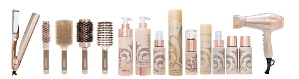 Get the whole TYME hair care line