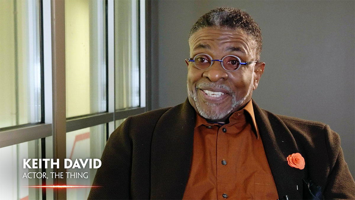 In Search of Darkness: Keith David interview