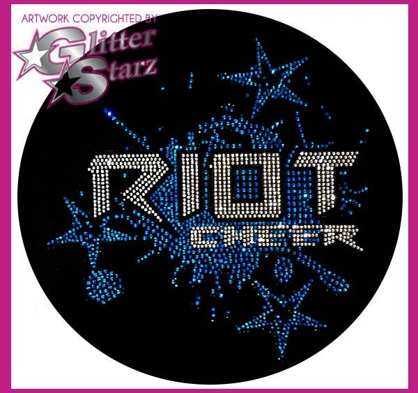 riot cheer bling webstore fundraiser glitterstarz