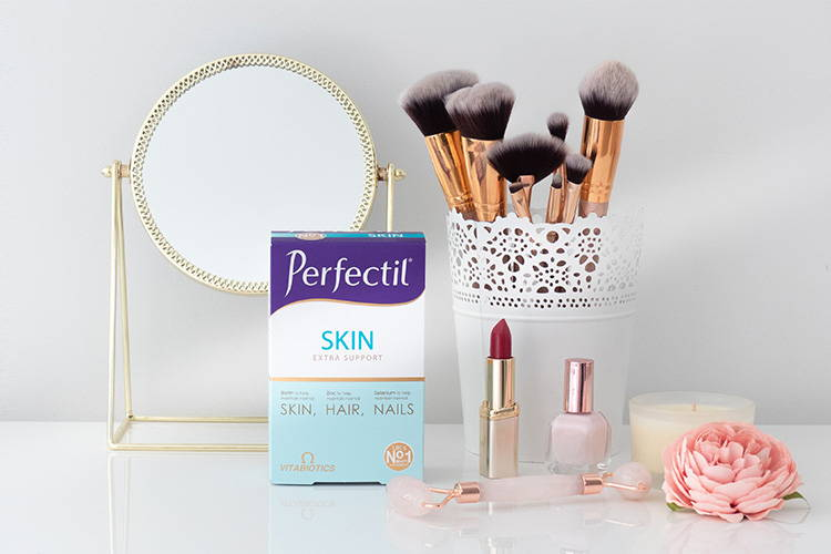 Perfectil Skin Pack On Makeup Table
