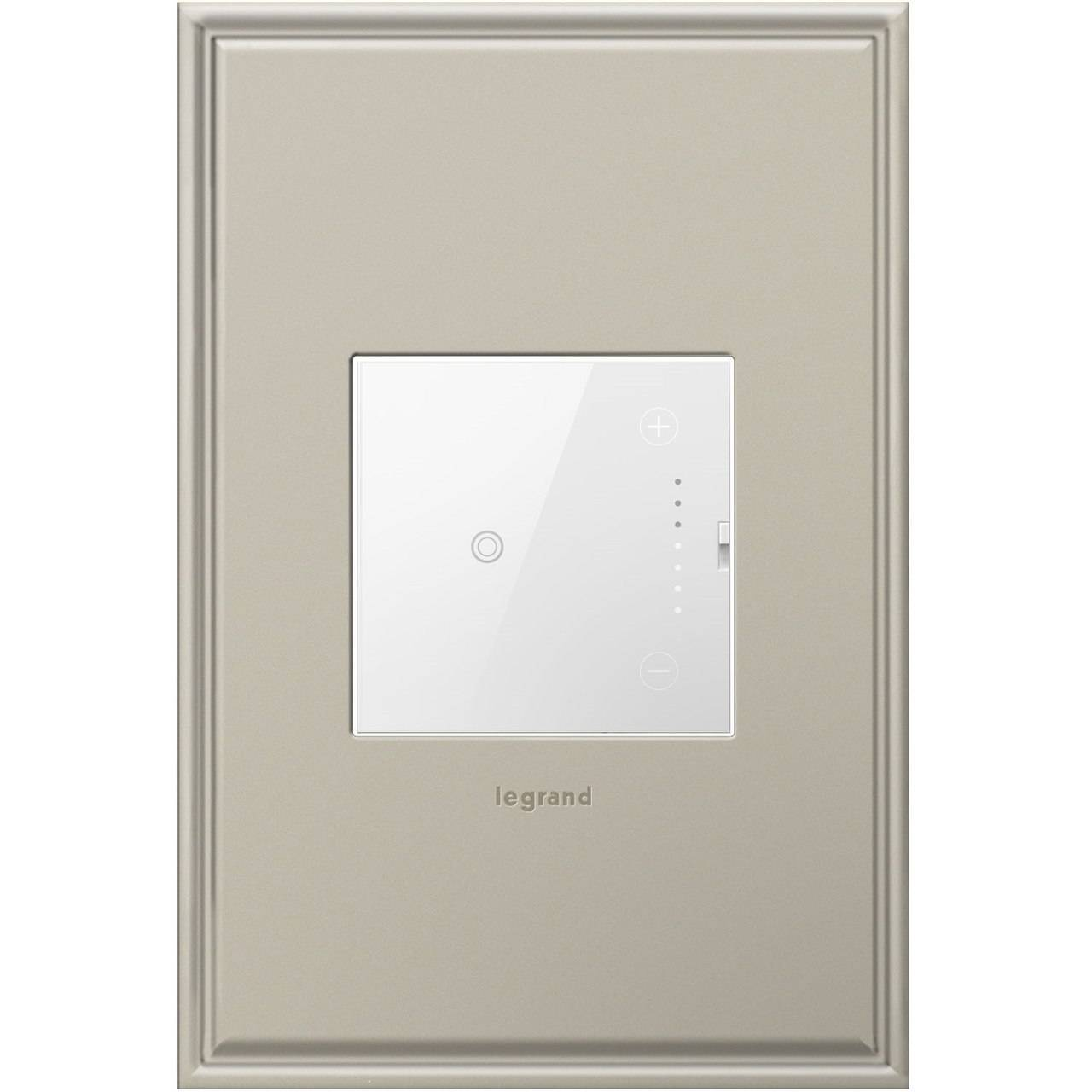 Legrand adorne touch dimmer switch wi-fi ready lighting control